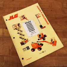 jlg  jlg 3120736 operators safety manual