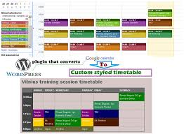 Timetable Creator Wordpress Schedule Plugins That Will Get The Job Done