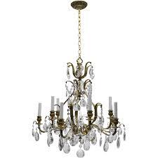 vintage chandelier vintage swedish chandelier brass u0026 crystal 10 lights the old light fnoohuy