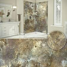 flexstone shower abalone