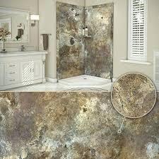 flexstone shower abalone