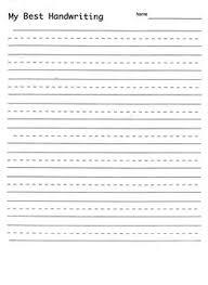 2. blank hand writing sheet writing sentences worksheets free ...