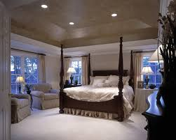 Master Bedroom With Tray Ceiling, Shenandoah Model Traditional Bedroom