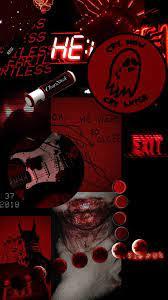 Aesthetic Dark Red Wallpapers ...