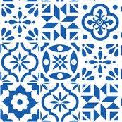 Pattern In Spanish Fascinating Spanish Tile Pattern larger size fabric elizajanecurtis