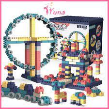 Bộ đồ chơi lego xếp hình lắp ráp 520 chi tiết (hàng đẹp) - Đồ chơi thông  minh cho bé - Đồ chơi học tập