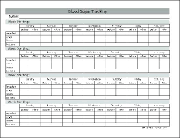 Blood Sugar Monitoring Log Free Blood Sugar Chart Monitoring Pdf Glucose Ijbcr Co