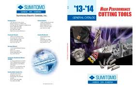 Sumitomo Carbide Grade Chart General Catalog Sumitomo Electric Carbide Pdf Catalogs
