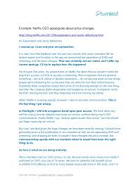 Customer Apology Letter Examples New 48 Tips For Writing A Corporate Apology Letter