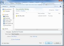 dotx file extension t3 10 create an appellate brief template in microsoft word