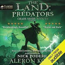 Chaos seed book 9 : The Land Predators A Litrpg Saga By Aleron Kong Audiobook Audible Com