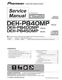 pioneer deh 1300mp wiring manual inside deh 11e diagram