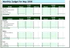 Student Budget Planner College Budget Spreadsheet Excel College Budget Template Monthly