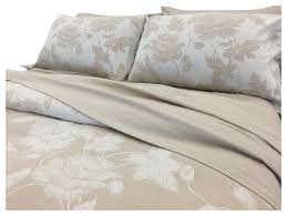 yue home textile yarn dyed linen cotton duvet cover set lily dune