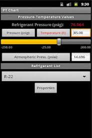 Hvac Pt Chart For Android Free Download And Software