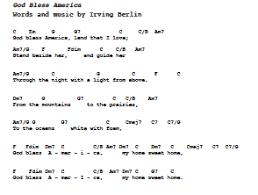 God Bless America Chord Chart God Bless America In 2019 Guitar Chords Music Songs Ukulele