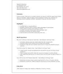 day trader resume - Junior Trader Resume