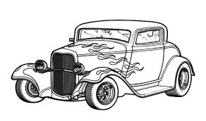 Small Picture Hot Rod Coloring Page Free Printable Coloring Pages Pinterest