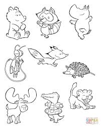 Small Picture baby animal match baby animal match coloring page gallery of