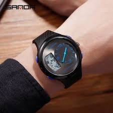 Sanda men's waterproof student watch fashion multi ... - Vova