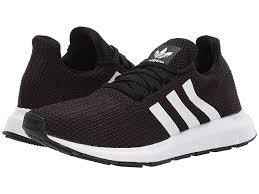 adidas Originals Swift Run W Women's Shoes Core Black/Footwear White/Core  Black   Adidas outfit shoes, Black adidas shoes, Womens gym shoes