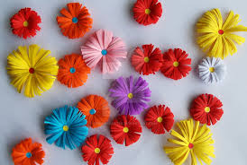 Flower Made By Paper Folding 3d Origami Paper Flowers By Designermetin On Deviantart
