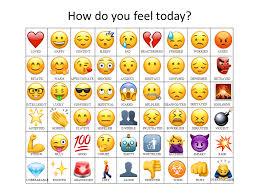 Feelings Chart Emoji Attempted To Make An Updated Emoji How Do You Feel Chart