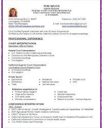 medical interpreter resume cover letter redoubtable divine certified court  download . medical interpreter resume ...