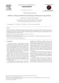Paetzold Design Platform Of Design Method For Developing Mobility Preserving