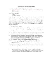 Non Compete Agreement Template Find Great Free Contract Samples For ...