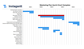 Monthly Gantt Chart Excel Template Free Download Free Excel Gantt Chart Template 2019 By Instagantt