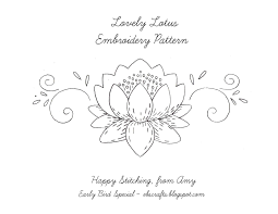 Free Embroidery Designs To Print Free Printable Flower Embroidery Patterns Free Embroidery