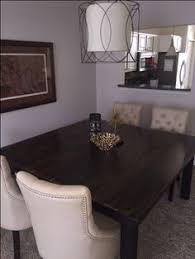 beautiful square dining table from james james mering 66 x 66 with a