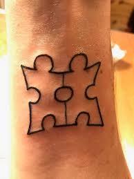 Tetování Puzzle Tetování Tattoo