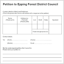 Template For Petition Petition Form Template Free Printable Petition Template Printable