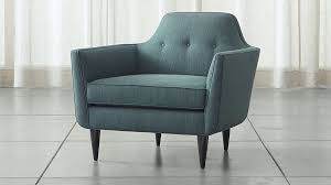 Gia Button Tufted Chair Reviews Crate and Barrel