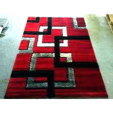 red black white rug and area rugs r design newest best page furniture