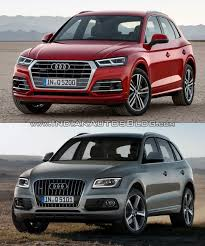 2017 Audi Q5 vs. 2013 Audi Q5 - In Images