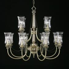 large multi tiered mid century waterford crystal chandelier for