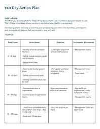 Download Example Format 30 60 90 Day Action Plan Template For Free