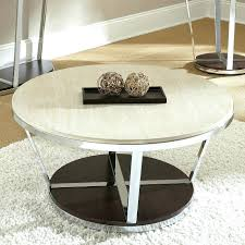 round stone top coffee table faux granite round coffee table