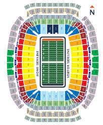Reliant Seating Chart Football Buy Sell Houston Texans 2019 Season Tickets And Playoff