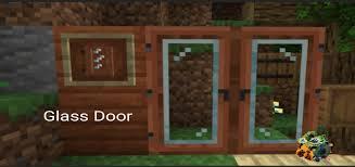 glass door texture pack minecraft pe
