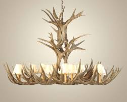 extra large mule deer antler chandelier