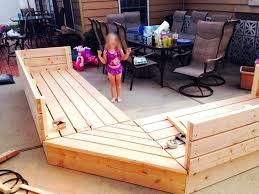 diy wood deck furniture plans fine pallet patio build a14 plans