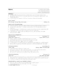 Examples Of Professional Skills Senior Financial Analyst Resume Summary Skills Sample Professional
