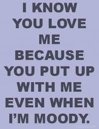 Love My Man Quotes Awesome Love Quote And Saying I Know You Love Me Because You Put Up With