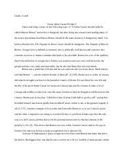 descriptive essay my neighborhood mrs seamons pd pd mrs 2 pages julius caesar