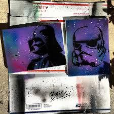 star wars coffee table book beautiful star wars darth vader stormtrooper galaxy painting art canvas