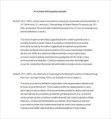 Apa Word Template 2015 7 Annotated Bibliography Templates Free Word Pdf Format Free